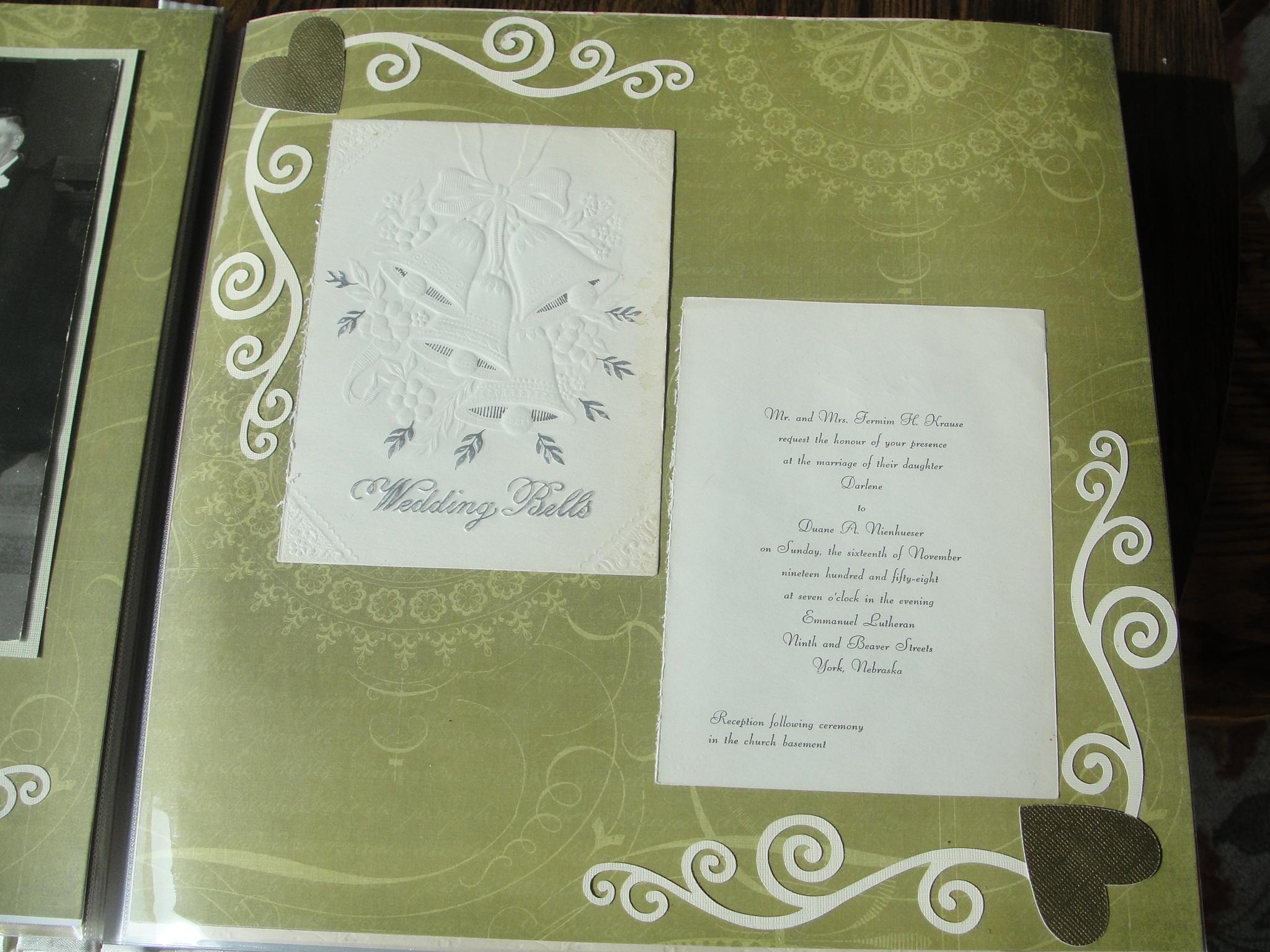 How to scrapbook a wedding invitation - Scrapbook Invitation Ideas Wedding Free Scrapbook Wedding Invitation Ideas