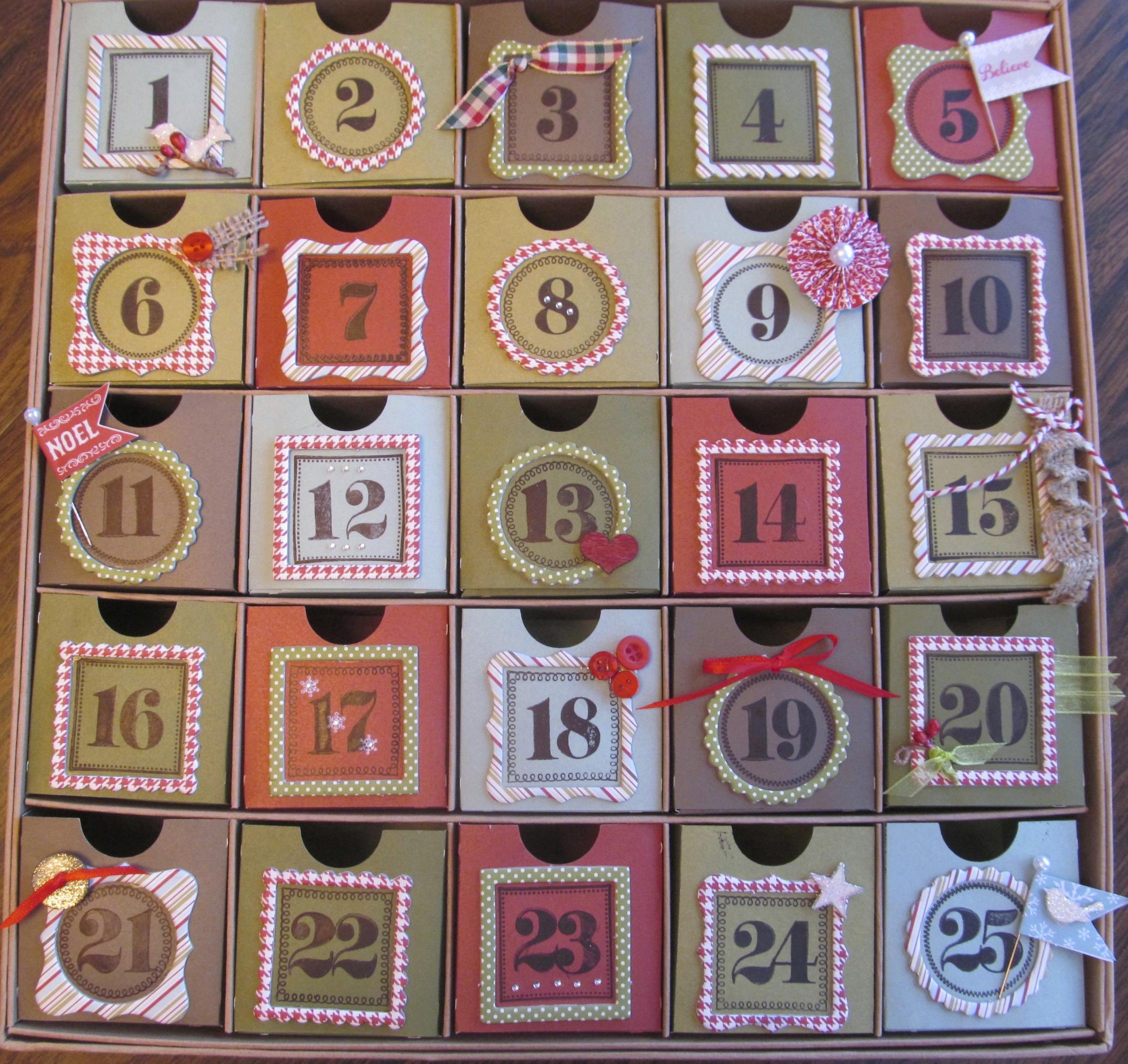 Blank Calendar Hobby Lobby : Hobby lobby advent calendar
